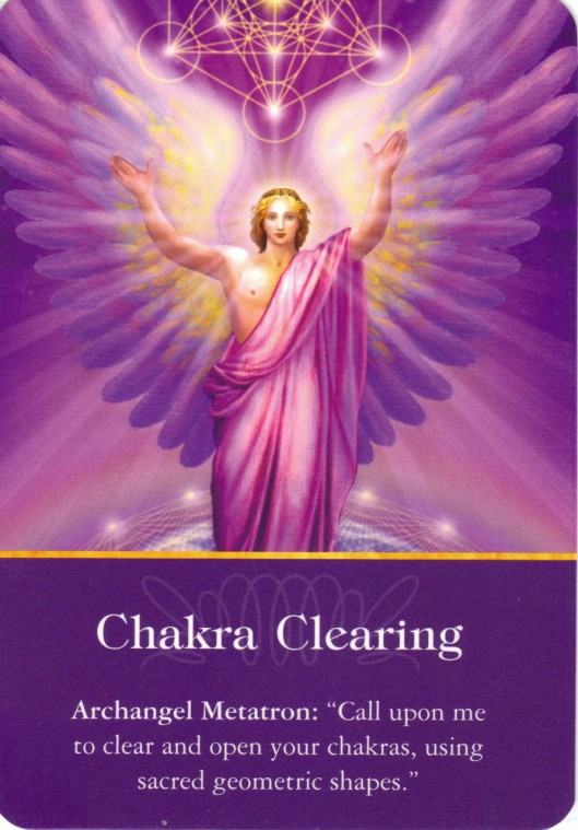 Angel Card Reading For Today Archangel Metatron Chakra