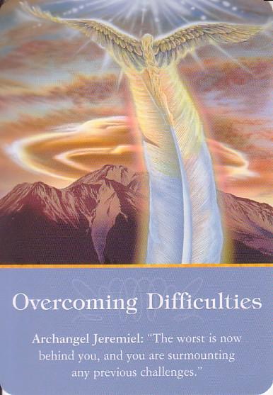 archangel oracle card readings