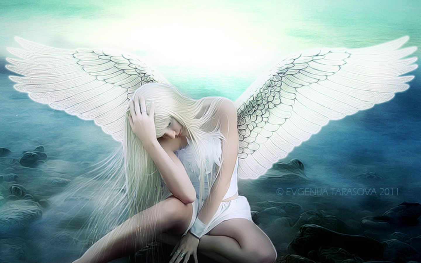 and the angel said to me �welcome to our world
