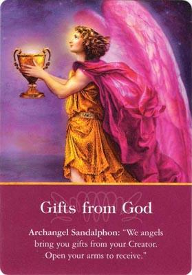 Archangel Sandalphon - Gifts from God