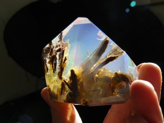 Opal butte crystal