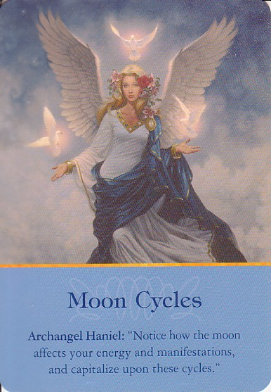 Archangel Haniel - MoonCycles