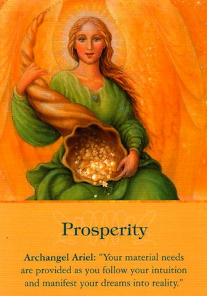 "Mini Reading for Today: Archangel Ariel ~ ""Prosperity"