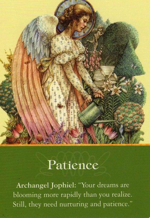 Archangel Jophiel - Patience