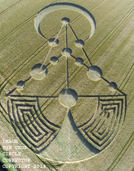 Image ~ Barbury Rings http://www.cropcircleconnector.com