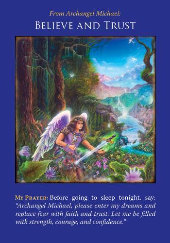 archangel michael believe and trust