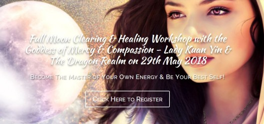 Full Moon healing and clearing workshop