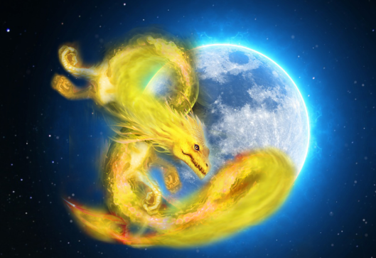 full moon workshop dragons elementals