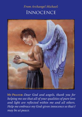 archangel michael card reading innocence